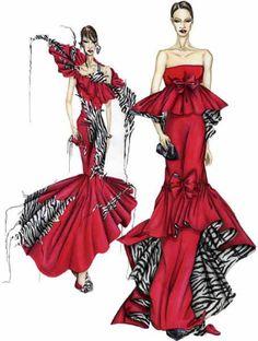 my favourite fashion Unique Fashion, Fashion Art, Fashion Models, Fashion Beauty, Womens Fashion, Fashion Design Drawings, Fashion Sketches, Fashion Illustrations, Beauty Illustration