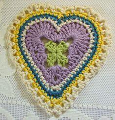 Nancy Drew Designs: Granny Sweet Heart Pattern