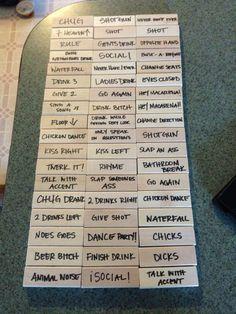 tablas de jenga con retos
