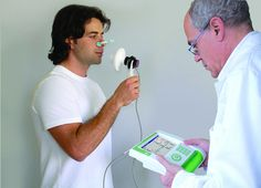 Complete spirometry and lung function testing with Fitmate MED desktop metabolic system, via Flickr.
