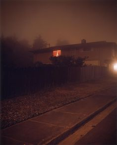 "Todd Hido: Homes at Night. ""I'll see a house and think, 'But how is it going to add to my body of work?' And that's dangerous. A lot of times I just won't take it."""