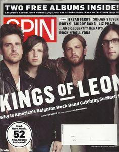 Kings of Leon Spin Magazine Nov 2010 Bad Religion Liz Phair Bryan Ferry Robyn