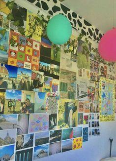Cute Room Ideas, Cute Room Decor, Chill Room, Cozy Room, Room Ideas Bedroom, Bedroom Decor, Bedroom Inspo, Kid Bedrooms, Indie Bedroom