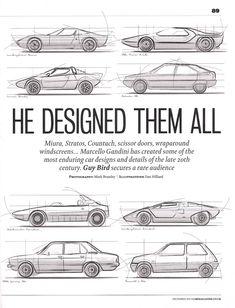 He designed them all