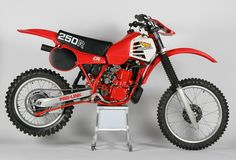 1981- Honda CR250R- First year water cooled.