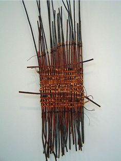 Mary Butcher, branch/twig weaving