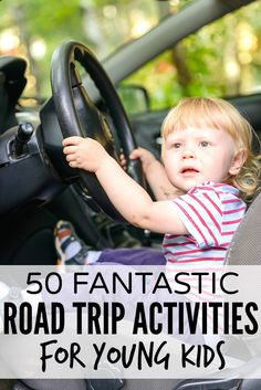 50 fantastic road trip activities for kids - more ideas to keep them entertained on that long drive to Disney World!