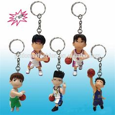 7 cm Japanese figurines of SLAM DUNK 5 pcs a set SLAM DUNK key buckle, View Japanese figurines, donnatoyfirm Product Details from Guangzhou Donna Fashion Accessory Co., Ltd. on Alibaba.com
