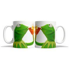 Kermit Tea Meme Funny Mug Gifts for Him Meme Mug Unique Mug Office Mug... (€13) ❤ liked on Polyvore featuring home, kitchen & dining, drinkware, drink & barware, home & living, mugs, silver, christmas mugs, christmas drinkware and tea mug