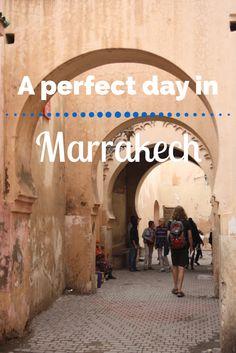 Een perfecte dag in Marrakech. Maak je een stedentrip Marrakech of een rondreis Marokko en heb je niet zo veel tijd? Zo haal je het beste uit je stedentrip Marrakech.