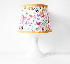 Tischlampen - Lampenbezug inkl. Lampe | Bienchen - ein Designerstück von naehfein-berlin bei DaWanda