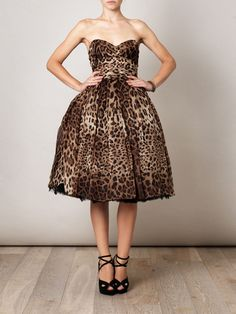 Leopard Print is really IN at the moment!