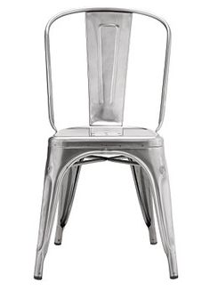 metal dining chairs... Taller