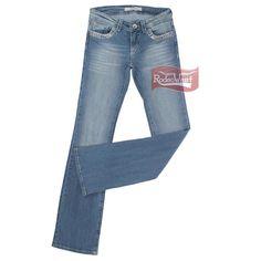Calça Jeans Feminina Stretch Boot Cut Stone c/ Elastano - Tassa Gold - RodeoWest