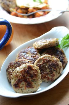 Homemade Apple-Onion Chicken Breakfast Sausage -- so good for Phase 1 (without oil) or maintenance.