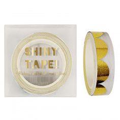 Gold Scollop Pattern Tape