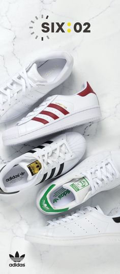 Always sporting the 3 stripes. Pick up the latest adidas Originals styles now at at SIX:02!