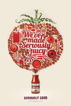 Heinz Seriously Good Sauce Print on Behance