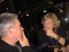 Solving world problems with Carol Thatcher in Venice (Hard Rock Cafe)