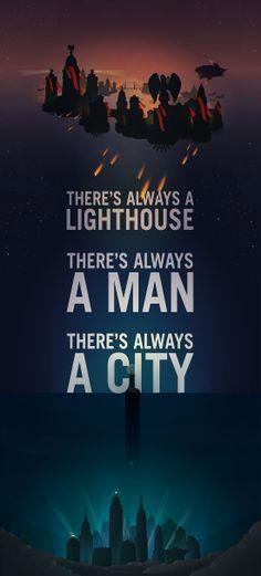 Bioshock Quote poster