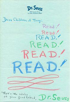 Read read read!