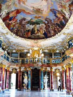20 of the World's Most Beautiful Libraries - http://Oddee.com (beautiful libraries, amazing libraries...)