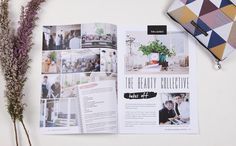 The Beauty Collective Newsletter Design. victoriawigzelldesign.co.nz