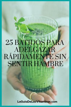 25 smoothies to lose weight quickly without feeling hungry Healthy Smoothies, Healthy Drinks, Healthy Recipes, Healthy Food, Drink Recipes, Nutrition Drinks, Fodmap Recipes, Detox To Lose Weight, Healthier Together