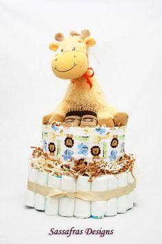 Take a peek at our cute baby diaper cakes. Take an additional 10% with coupon Pin60 at www.CreativeBabyBedding.com