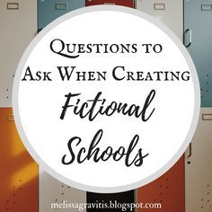 Quill Pen Writer: Questions to Ask When Creating Fictional Schools Creative Writing Tips, Book Writing Tips, Writing Resources, Writing Help, Writing Skills, Writing Prompts, Writing Ideas, Writing Guide, Persuasive Writing