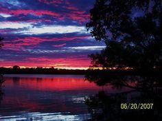 Sunset at Inks Lake State Park - #Texas