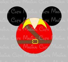 Gaston Mouse Head SVG, Studio, EPS, and JPEG Digital Downloads – Magikal Cuts