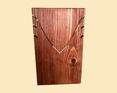 3 exhibición del collar soporte / soporte del collar de madera / soporte del collar / exhibición de la joyería / exhibición de la tienda de artesanías comercio Mostrar / 10 opciones de Color                                                                                                                                                      Más