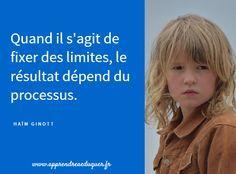 Poser des limites en respectant l'intégrité de l'enfant et sans l'humilier limites aux enfants