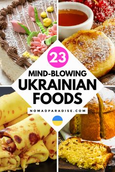 Ukrainian Desserts, Ukrainian Recipes, Russian Recipes, Ukrainian Food, Eastern European Recipes, European Cuisine, Traditional Russian Food, Polish Recipes, Polish Food