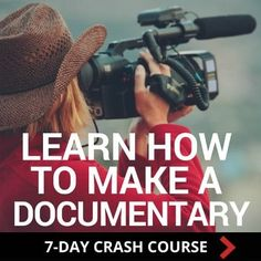 Filmmaking demystified! Are you ready to start making documentaries? Follow these simple steps and you are on your way to having a finished movie.