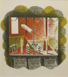 Fireworks by Eric Ravilious Magazine Illustration, Children's Book Illustration, Book Illustrations, Firework Painting, British Books, Fairy Pictures, Bonfire Night, Book And Magazine, Vintage Children