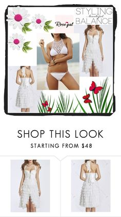 """""""Rosegal 16"""" by zina-lami ❤ liked on Polyvore"""