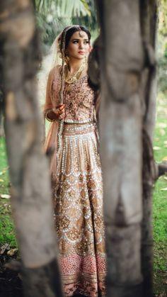 Deepak Perwani's Bridal Collection Traditional Gold Pakistani Barat & Walima Dresses this wedding season avaibale online @ Discount SALE price Simple Bridal Shower, Summer Bridal Showers, Bridal Shower Rustic, Bridal Outfits, Bridal Dresses, Bridal Collection, Dress Collection, Small Bridal Parties, Walima Dress