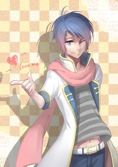 KAITO Creds by _蒿子_ @Pixiv