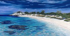 We are so blessed to have beautiful Rottnest Island on our doorstep - if you haven't been Go!!! @karmarottnestlodge @rottnestislandwa #rottnest #rottnestisland #water #perth #westernaustralia #art #painting #pastels #beach #beautiful by oceanpaintingsbyannsteer http://ift.tt/1L5GqLp