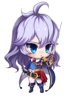 Kawaii Chibi, Cute Chibi, Anime Chibi, Kawaii Anime, Character Drawing, Game Character, Character Concept, Character Design, Grand Chase