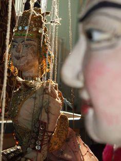 Marionnette à fils birmane
