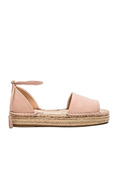 Splendid Edna Flat in Blush Nubuck