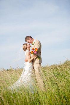 Beautiful summer wedding