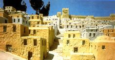 Ancient Buildings in Jerusalem | ... the Houses of the Lower City in the Second Temple Model of Jerusalem