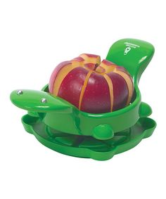 Again, if this works I promise to make more apple pies!Take a look at this Turtle Slicer/Corer by Boston Warehouse on #zulily today!