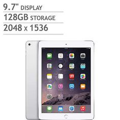 Apple iPad Air 2 A8X Chip 128GB - Silver