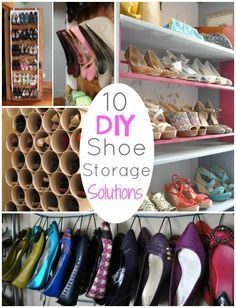 DIY Round UP: 10 DIY Shoe Storage Solutions