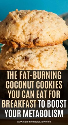 Coconut cookies - As you have already heard, the breakfast is the most important daily meal, and if healthy and balanced, it can supply the body with the needed energy and nutrients for the entire day Moreover, in cas Healthy Snacks, Healthy Eating, Healthy Recipes, Diy Snacks, Healthy Protein, Avocado Recipes, Healthy Dishes, Whey Protein, Healthy Life